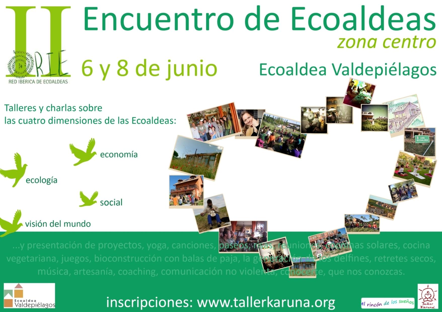 Ii encuentro bioregional de ecoaldeas rie taller karuna for Construye tu casa online