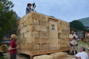 casa de paja, autoconstruccion con paja, bioconstruccion