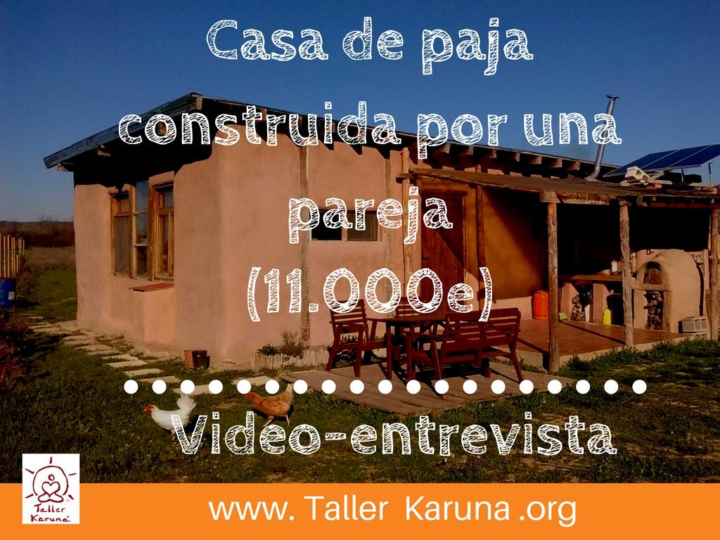 asa de paja, bioconstruccion, casas de paja, como hacer una casa, casas baratas, autoconstruccion, curso bioconstruccion, construir con paja, casa de balas de paja