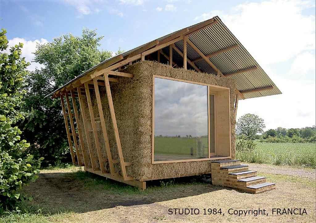 Дом из соломы своими руками фото 146