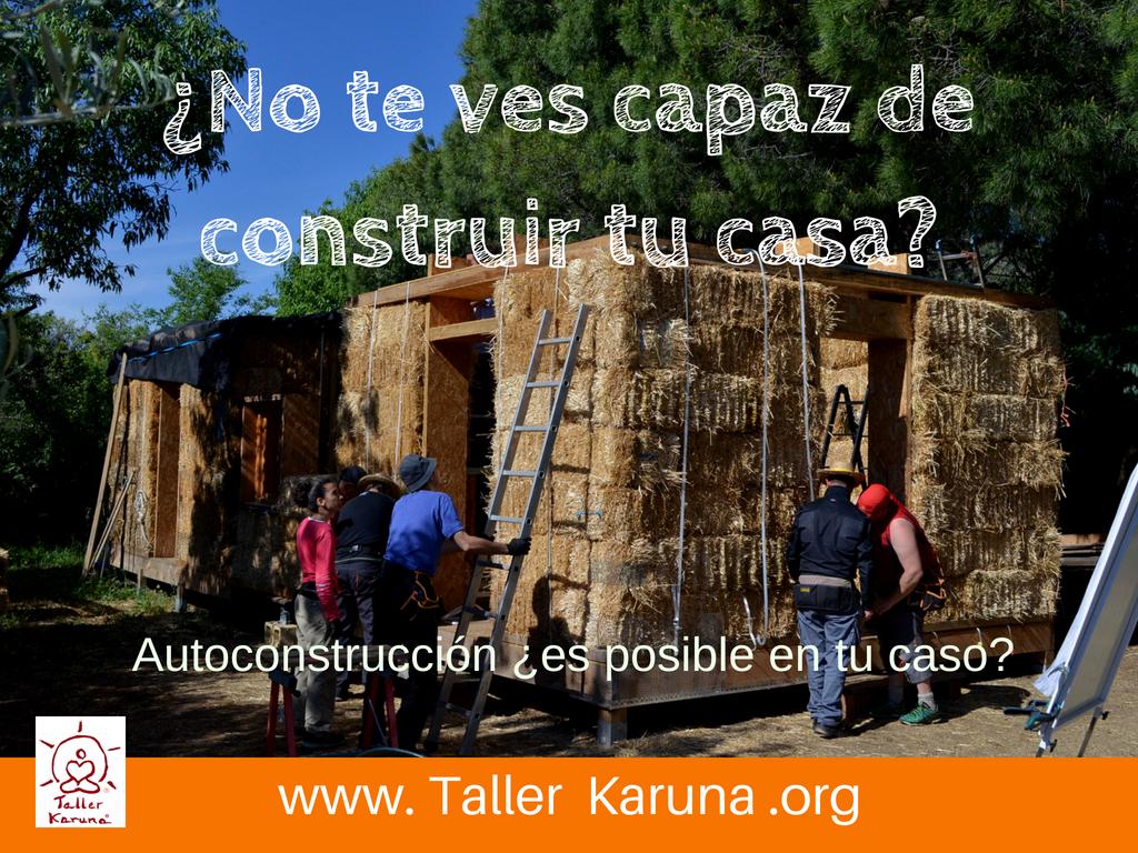 curso bioconstruccion, taller construccion con paja, casas de paja