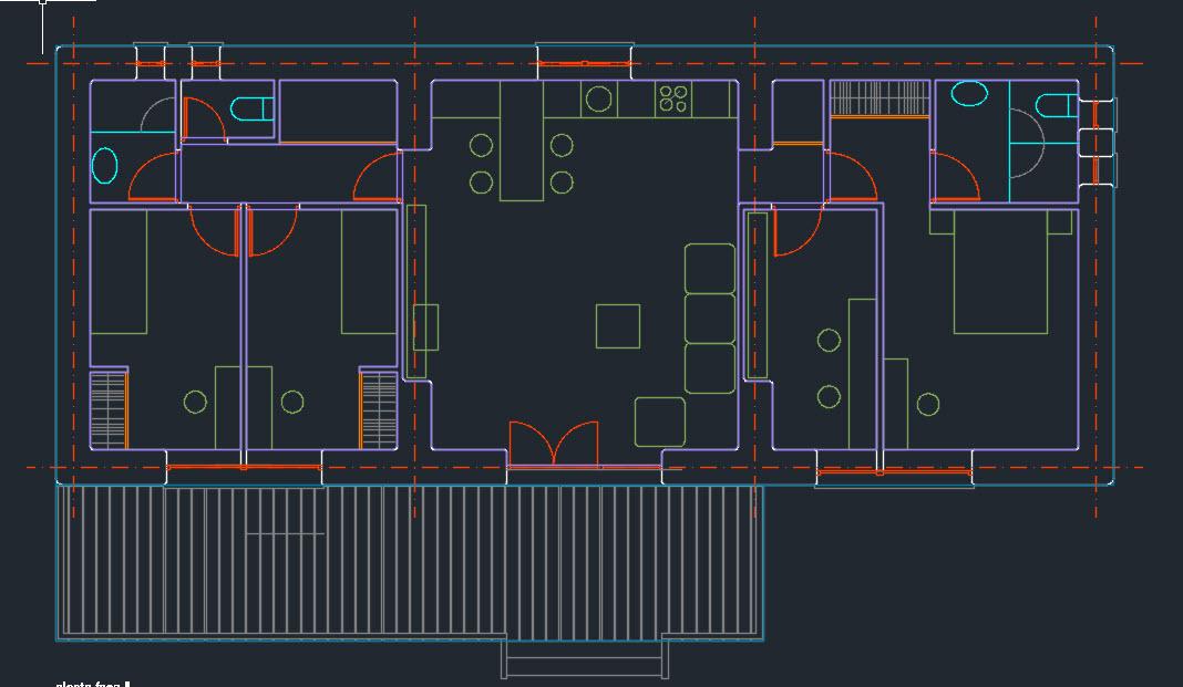 planos casa paja, plano bioconstruccion, plano como hacer una casa de paja, bioclimatica